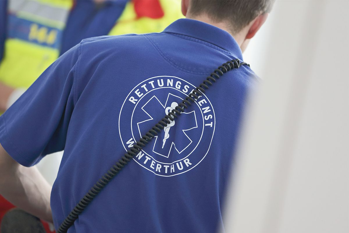 Reanimation durch den Rettungsdienst Winterthur KSW