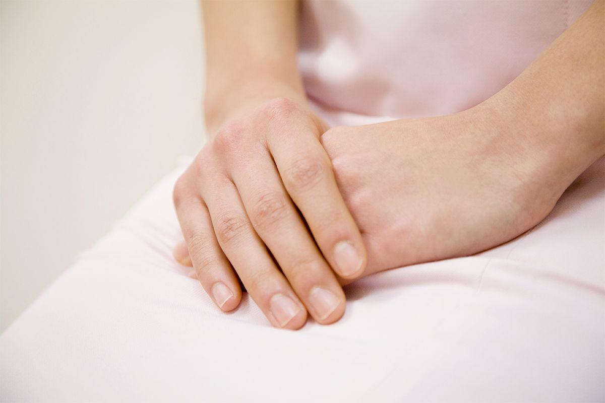Schamlippenveränderung: Lichen sclerosus