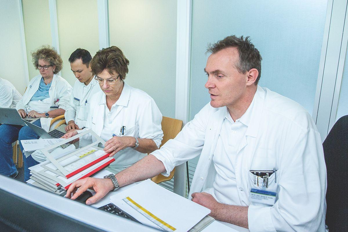Tumorboard Zentrum für Lymphome und Leukämien