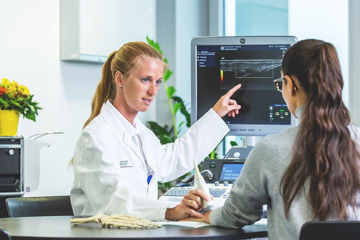 Ultraschall des Bewegungsapparats