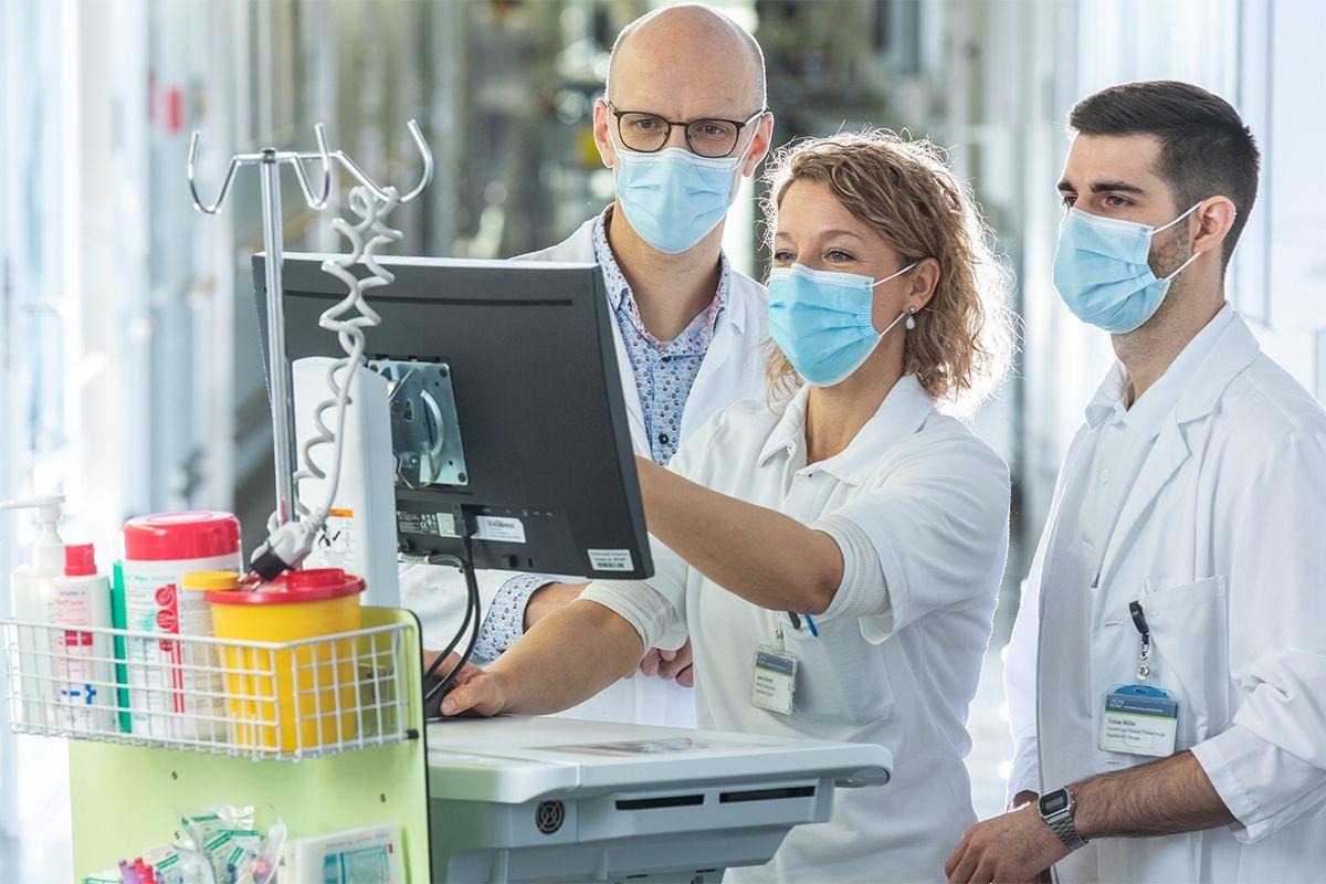 Arbeiten im KSW - Ärztinnen und Ärzte